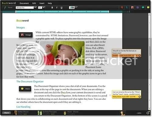Buzzword - Screenshot