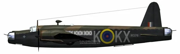 In 311 Sqn Bomber Command livery.