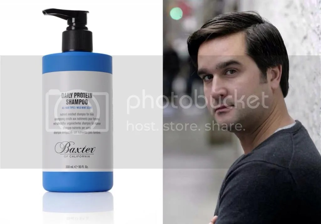 Baxter shampoo Bob C