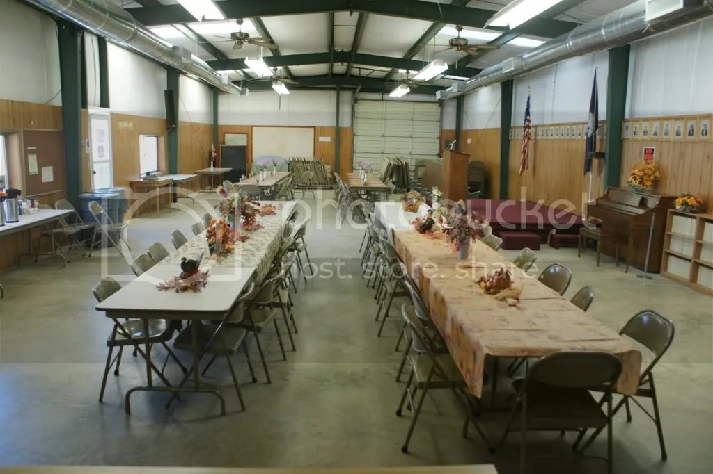 photo of dining hall by Martin Miller