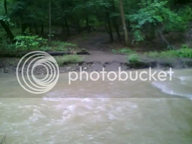 Buckeye Trail after all-night rain