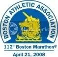 BAA 112th Boston Marathon logo