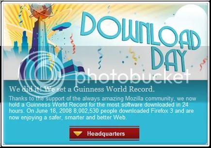 Firefox - Recorde Mundial