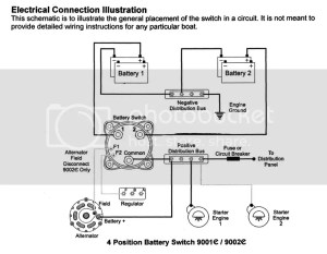 wiring diagram for dual batteries  The Hull Truth