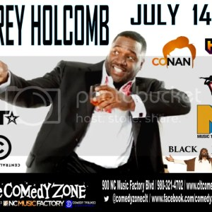 win a pair of tickets to laugh with the Corey Holcomb