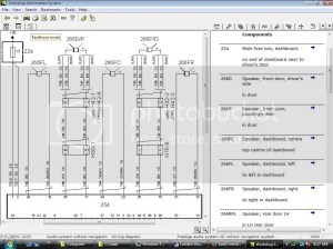Wiring diagram for stereo  amplifier 95 2006