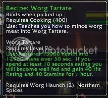 Worg Tartar