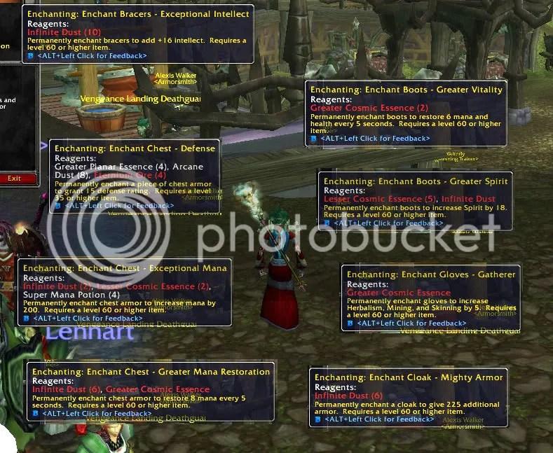 Level 375 Enchants in Northrend