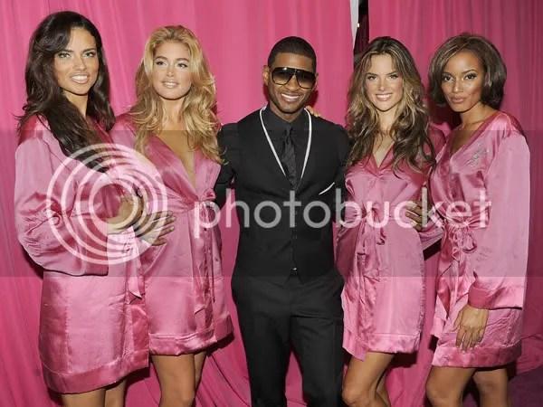 It definitely did NOT suck to be Usher last Saturday night!