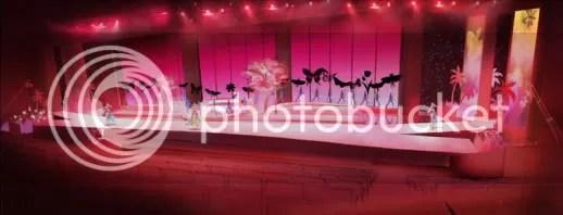 Stage Set 5 - Ballet de fleurs