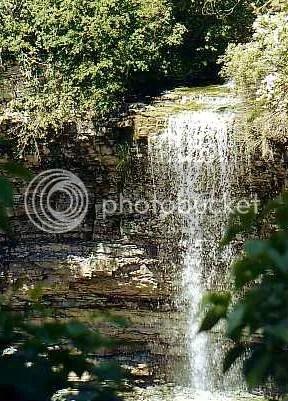 Rock Chapel Falls, 2010