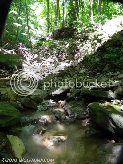 Rock Chapel Falls River