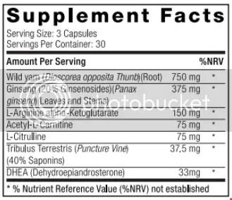 marine muscle enduro ingredients