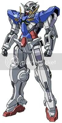 Gundam Exia...!