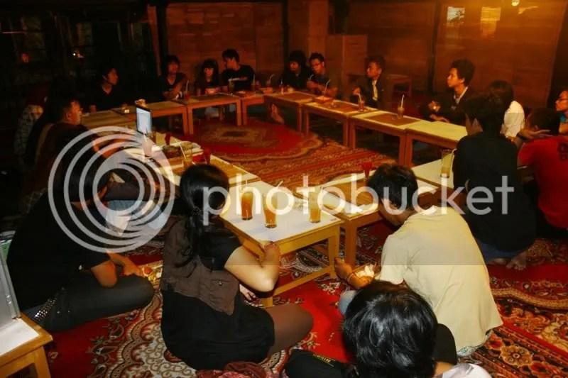 Komunitas Kine Se -Jogja mencoba kembali berkumpul untuk menghidupkan Forkom Kine Jogja yang telah lama tertidur