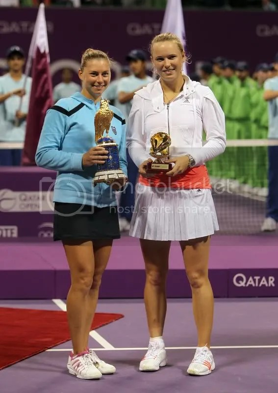 Vera Zvonareva beats Caroline Wozniacki to Win Qatar Ladies Open Title in Doha