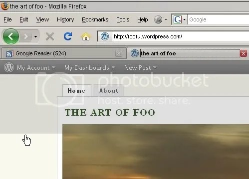 foo-fu goes firefox 3