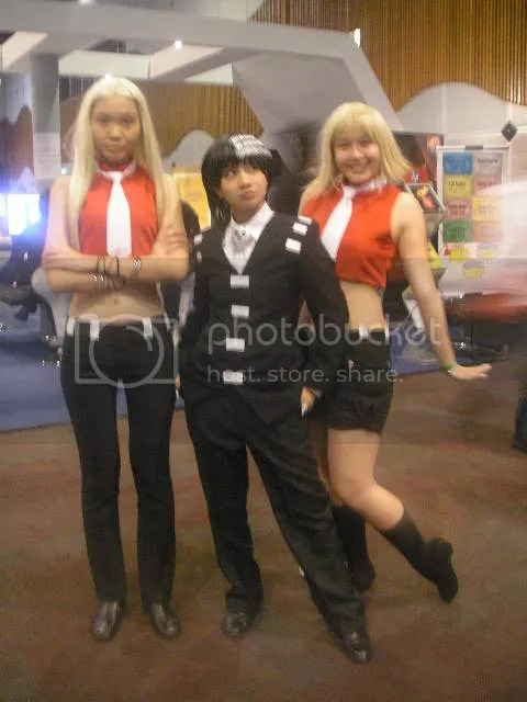 Liz, Death the Kid and Patty (Soul Eater)