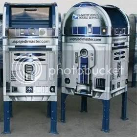 R2D2 mailboxes