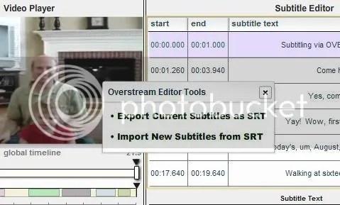 Overstream screenshot
