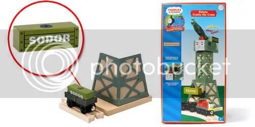 Olive Green Sodor Cargo Box