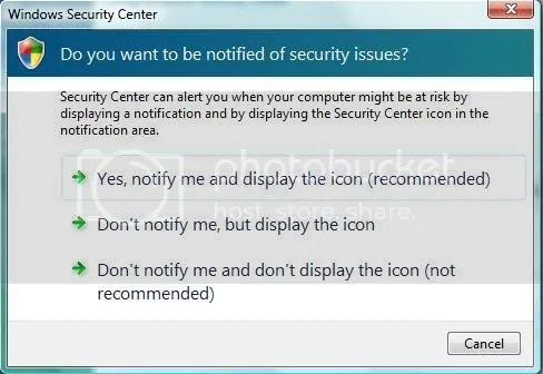 Windows Security Alert 3