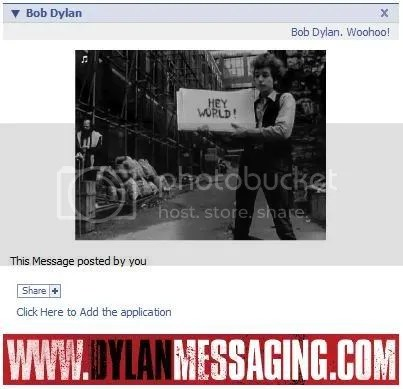 Bobdylanmessaging Screenshot