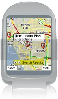 Google Maps Mobile screenshot