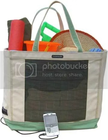 Solar Power Tote