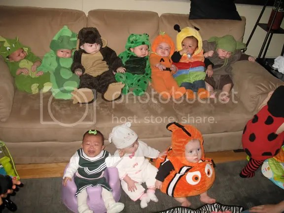 10.21.09 - Baby Costume Party!