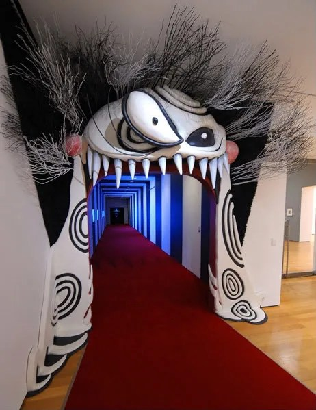 Entrance to MoMA event