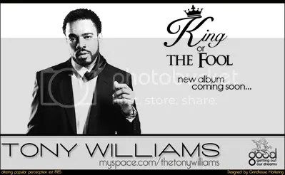 The Tony Williams Myspace Page