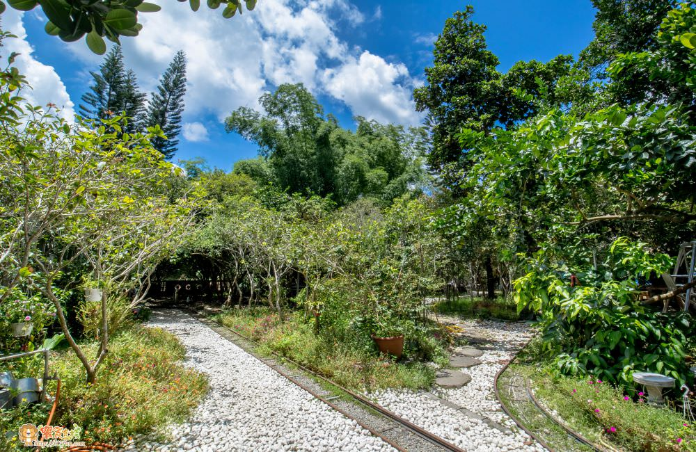 觀音山 綠野山莊土雞城庭園造景
