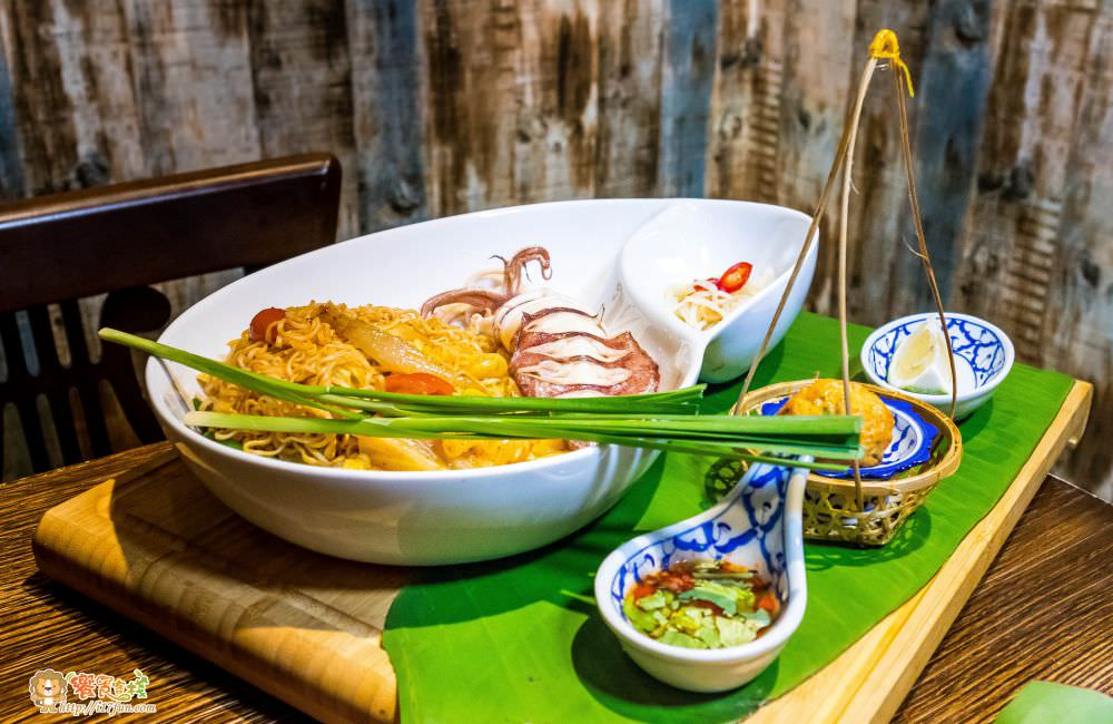 泰泰餐桌黃金小卷酸辣媽媽麵