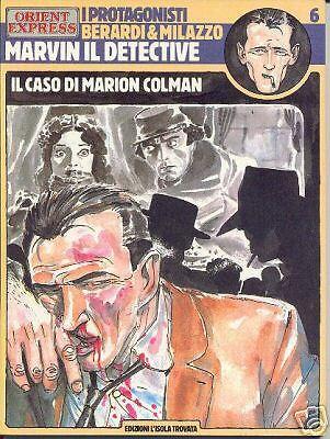 Marvin il detective sulla rivista Orient Express