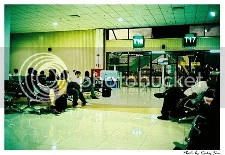 Air Asia flight delayed