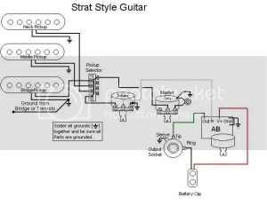 Emg wiring diagram help  Ultimate Guitar