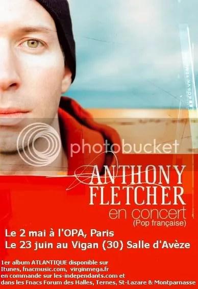Anthony Fletcher – à l'OPA le 2 mai