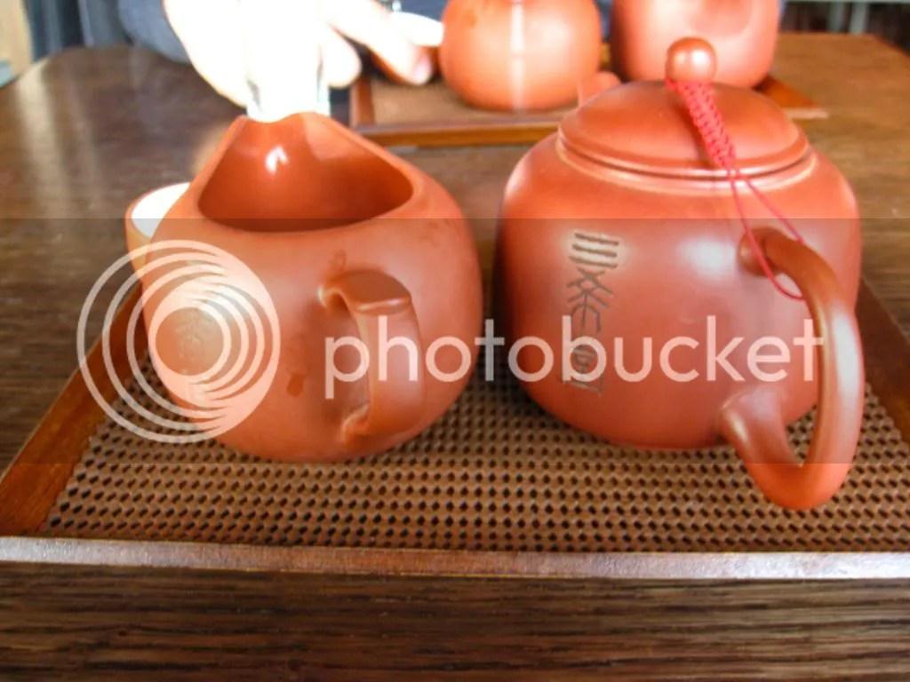 My Alishan tea and wings Oolong tea.