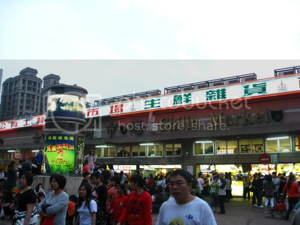 After that went to Shilin Night Market.