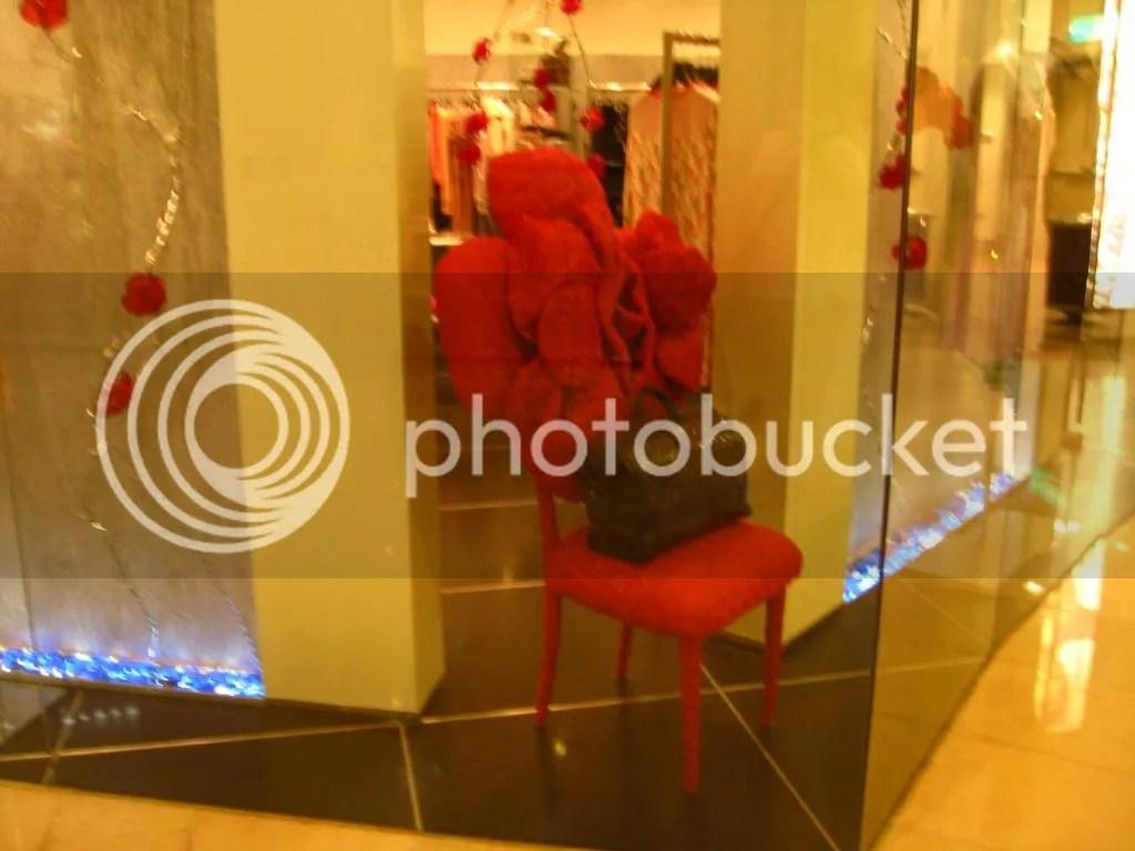 A rose chair :O