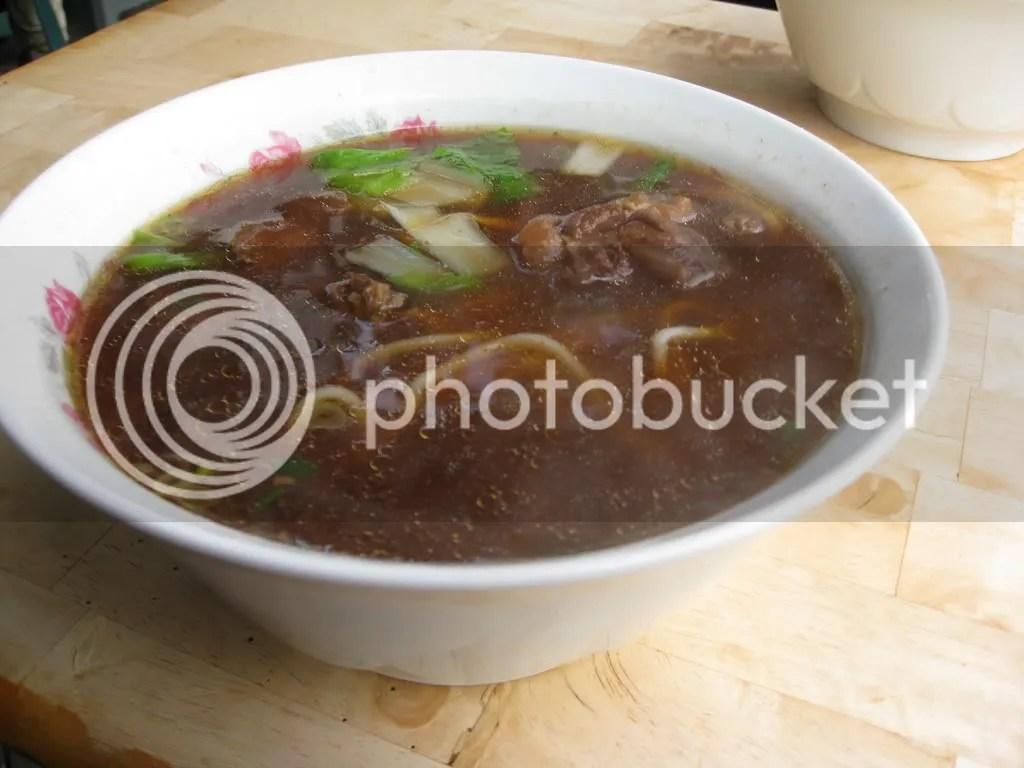Beef Noodle Soup~ Big size..