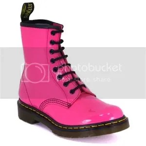 Pink Doc Martens