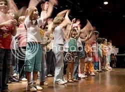 Evento de alunos no teatro