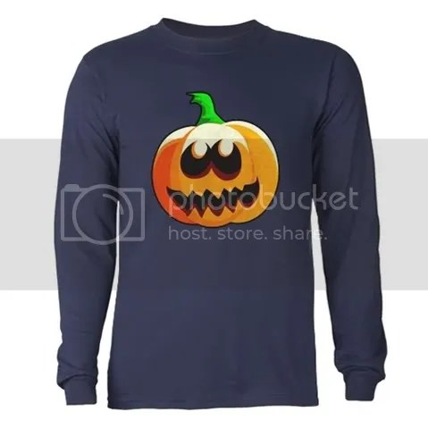Cool Pumpkin Long Sleeve Dark T-Shirt