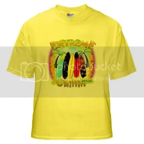 Extreme Chillin Yellow T-Shirt