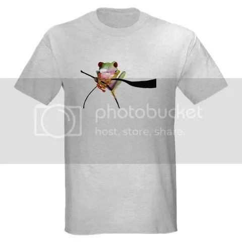 Frog Gifts Ash Grey T-Shirt