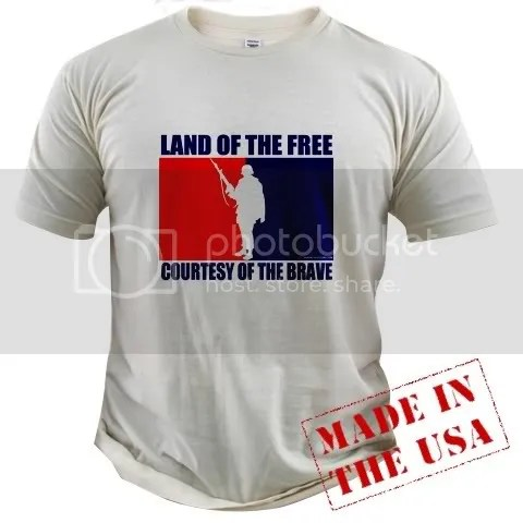 Land of the Free Organic Cotton Tee