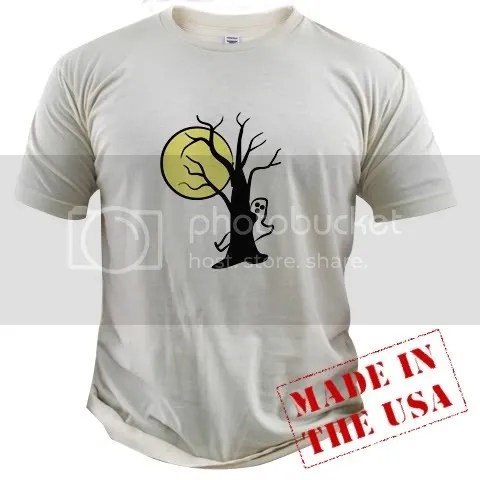 Spooky Organic Cotton Tee
