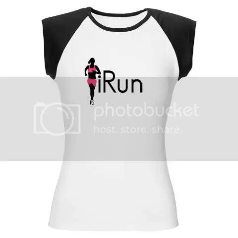 iRun Women's Cap Sleeve T-Shirt